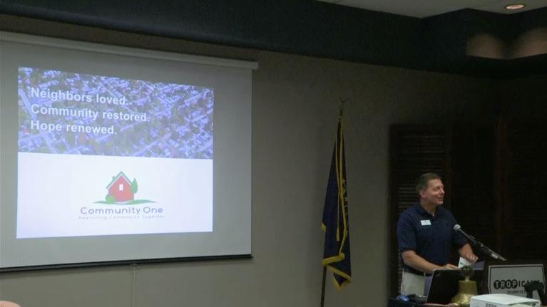 Evansville Rotary Club: Regional Voices: Eric Cummings, Neighborhood Revitalization