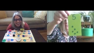 MATH GAMES WITH FRIENDS - English Captions