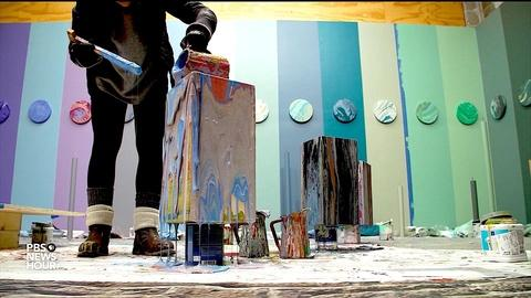 PBS NewsHour -- This San Francisco art exhibit takes another look at trash