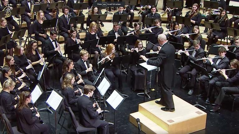 WPT Music & Arts: 2019 WSMA State Honors Concert: Band