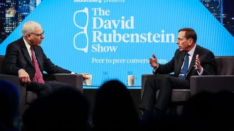 The David Rubenstein Show: Peer to Peer Conversations -- David Petraeus (Part 1)