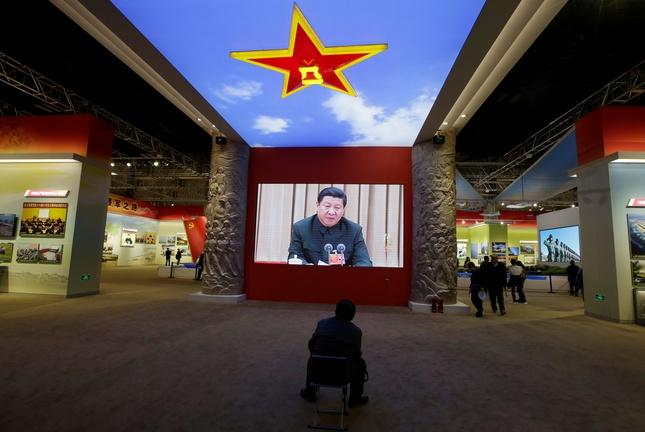 Xi Jinping celebrates China's rising power -- and his own