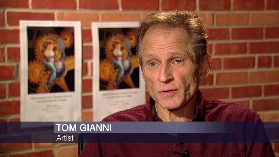 Courtroom Artist Tom Gianni Has His Day in a Gallery Exhibit image