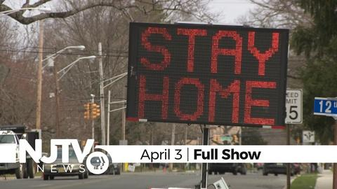 April 3, 2020: NJTV News with Mary Alice Williams