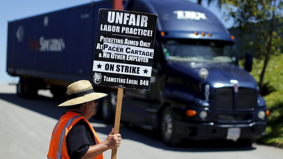 Labor violations force truckers into life of servitude image