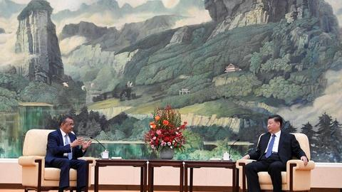 U.S.-China tensions take center stage at WHO summit