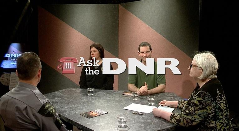Ask the DNR: Spring 2019 Fishing Season, Wildfire Prevention