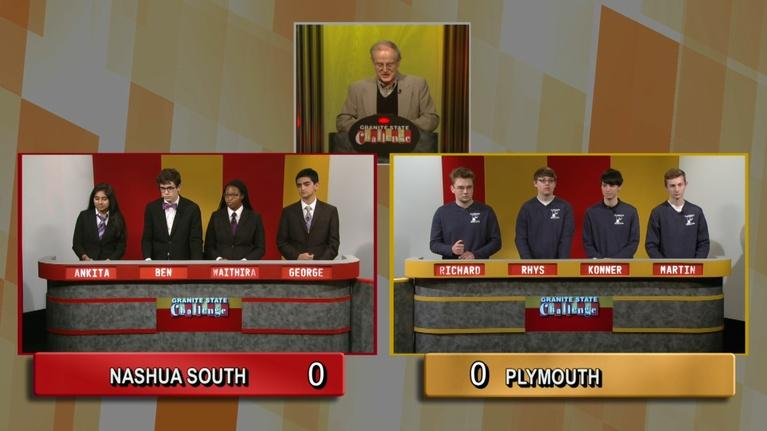 Granite State Challenge: Plymouth Vs. Nashua South