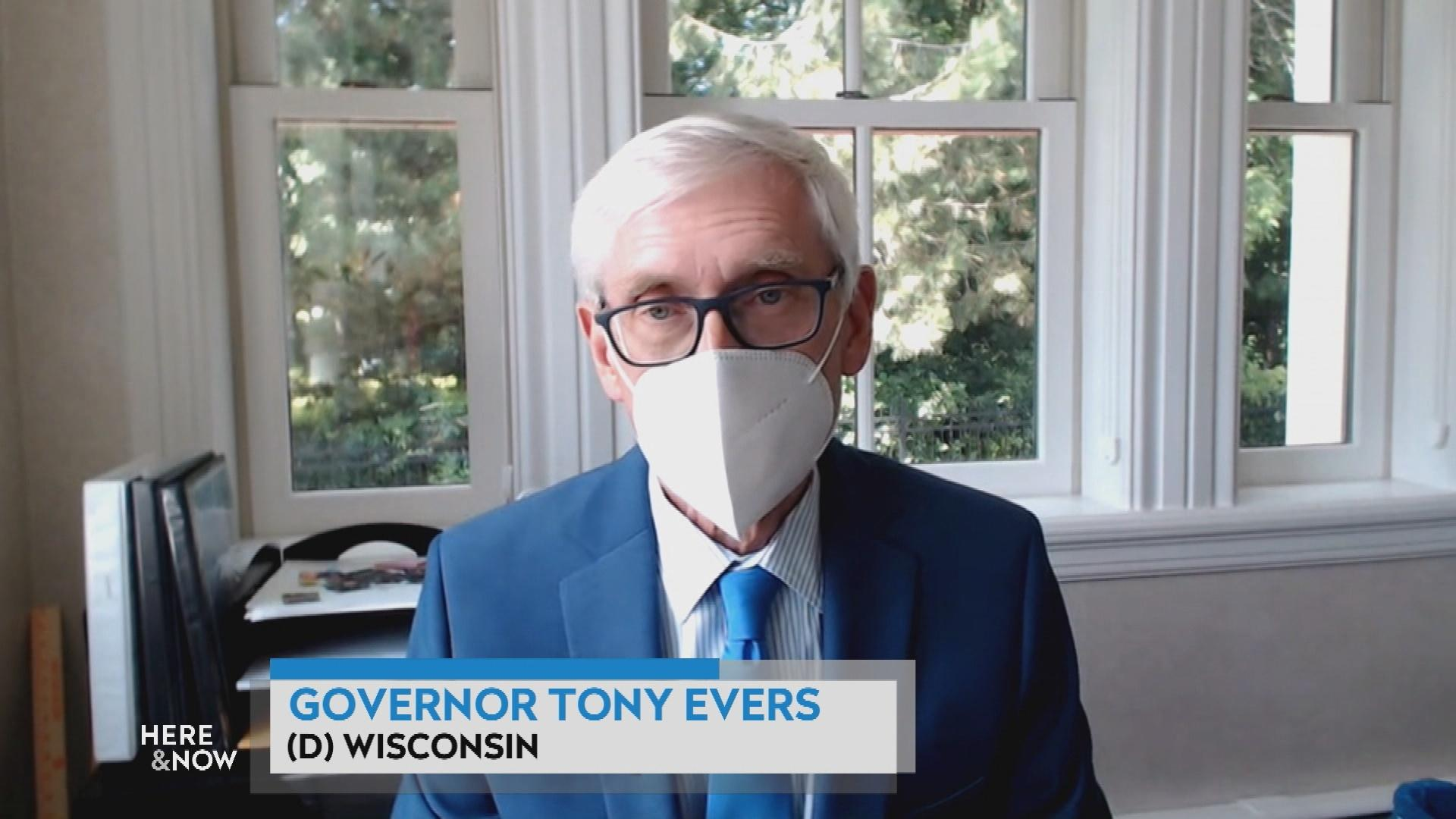 Governor Tony Evers on Coronavirus and Wisconsin