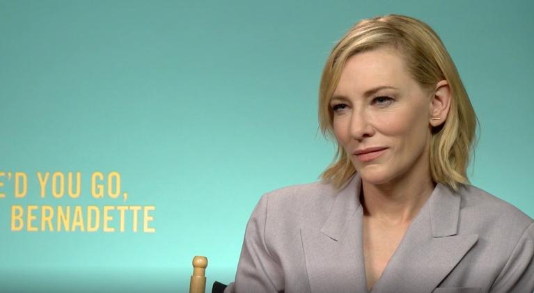 """Flicks: Cate Blanchett for """"Where'd You Go, Bernadette?"""""""