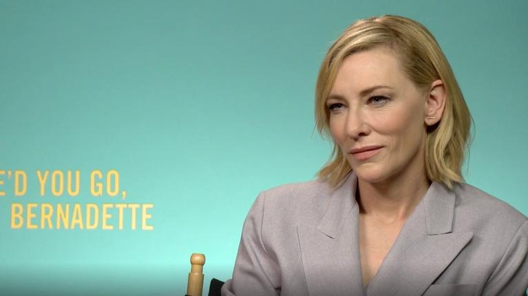 "Flicks: Cate Blanchett for ""Where'd You Go, Bernadette?"""