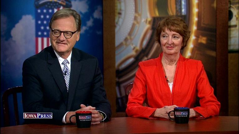 Iowa Press: Past Gubernatorial Candidates Bonnie Campbell and Doug Gross