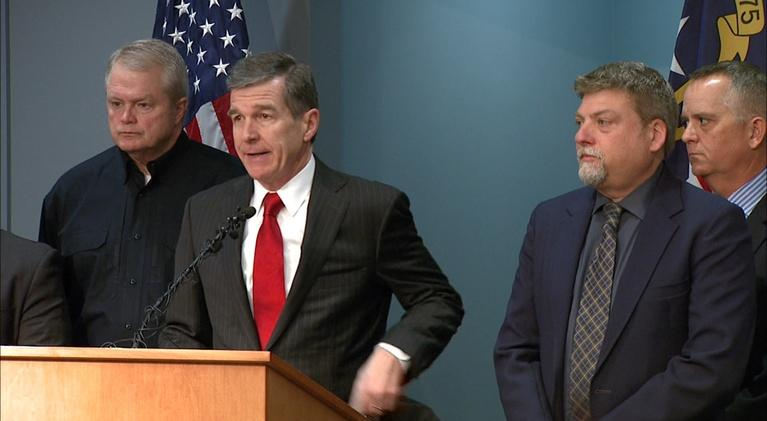 NC Emergency Management and Weather: NC Governor Roy Cooper's Weather Briefing - 03/12/18
