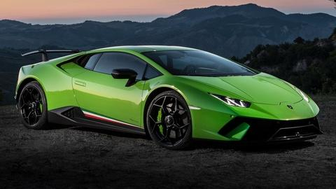 2018 Lamborghini Huracan Performante & 2018 Buick Regal Spor