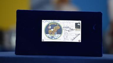 Appraisal: 1969 Apollo 11 Signed Postal Cover