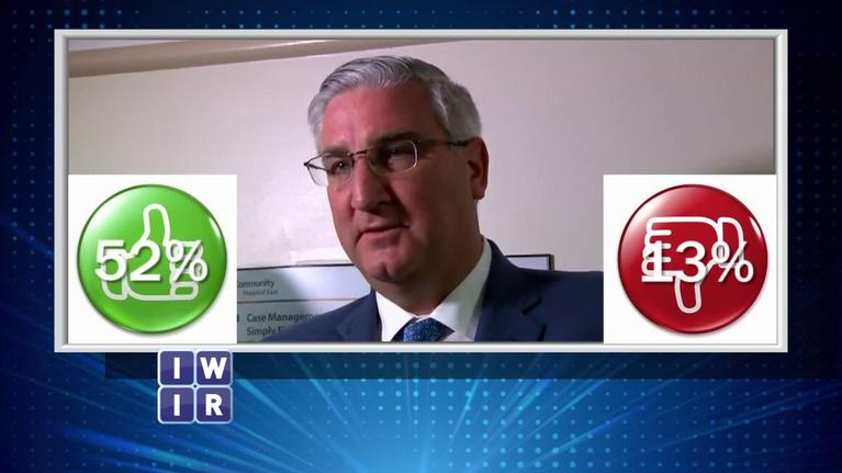 Indiana Week in Review: Governor Eric Holcomb's Approval Rating - November 16, 2018