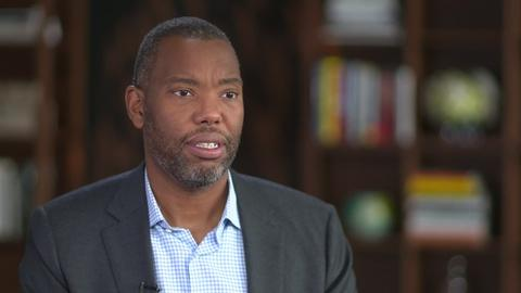 """Amanpour and Company -- Ta-Nehisi Coates Discusses """"The Water Dancer"""""""
