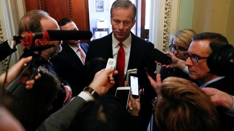 Thune says U.S. government should put life before economy
