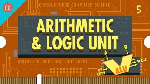 Crash Course Computer Science -- How Computers Calculate - the ALU: Crash Course Computer Sci