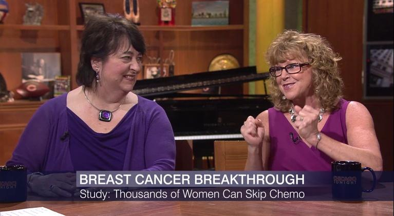 Chicago Tonight: Most Breast Cancer Patients Can Forgo Chemotherapy: Study