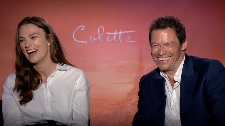 "Flicks: Keira Knightley and Dominic West for ""Colette"""