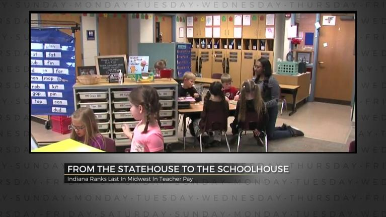 Indiana Week in Review: Teacher Pay- February 1, 2019