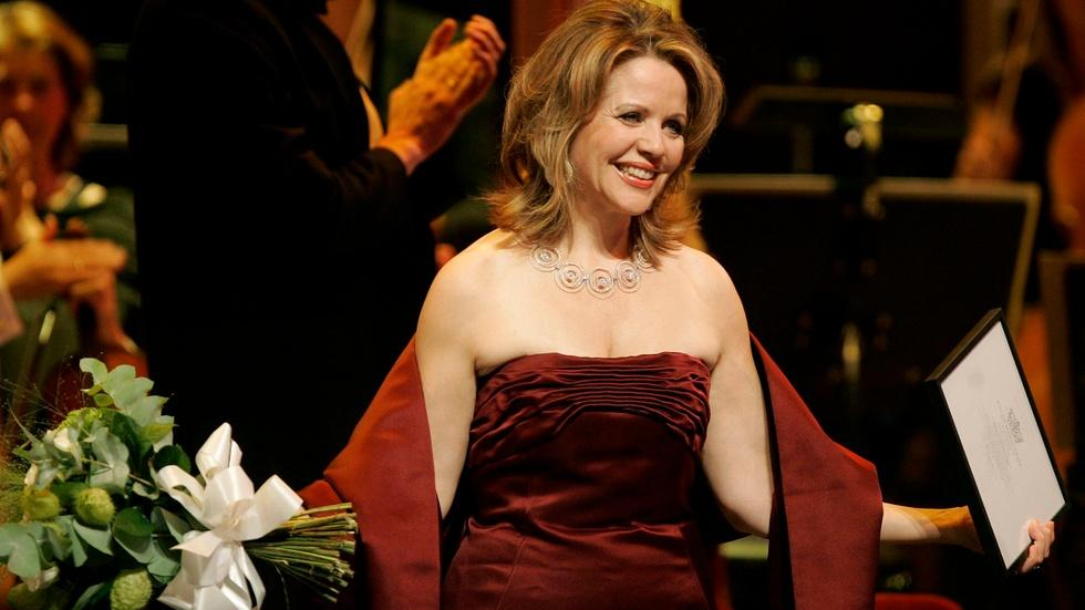 Singer Renée Fleming has career high notes ahead of her image