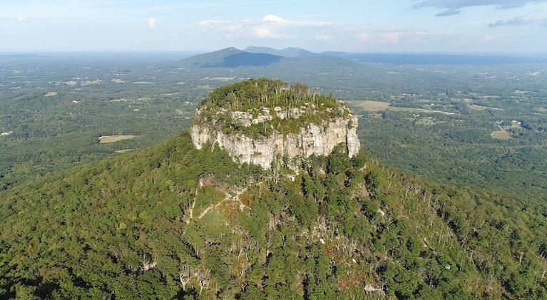 SCI NC: Pilot Mountain has a deer problem. Drones can help.