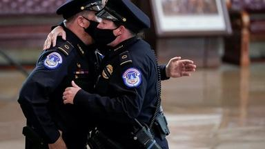Capitol Police officer gives his account of Jan. 6 attack
