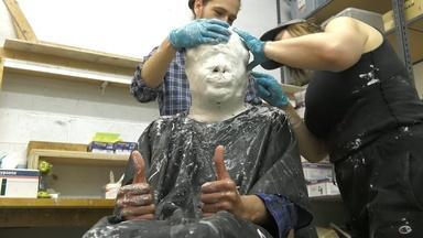 StudioEIS: Sculpting a Colonial Soldier