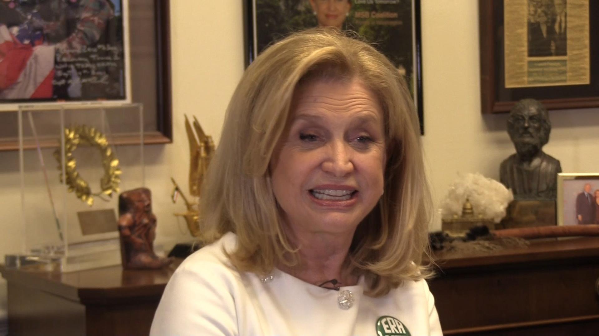 Rep. Carolyn Maloney on Equal Rights Amendment & Trump