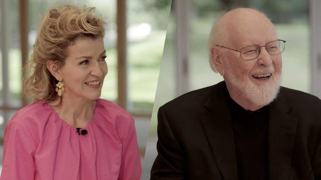 John Williams & Anne-Sophie Mutter Talk Composing and More