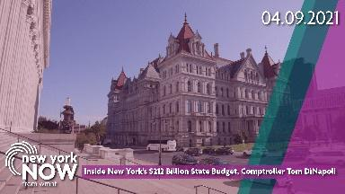 NY's $212 Billion State Budget, Comptroller Tom DiNapoli