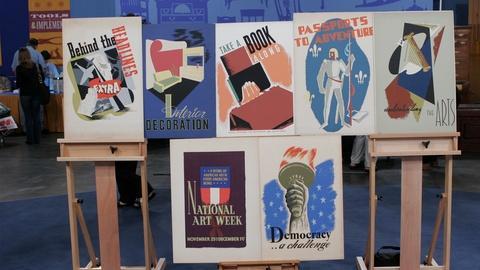 Antiques Roadshow -- Appraisal: WPA Silkscreen Posters, ca. 1940