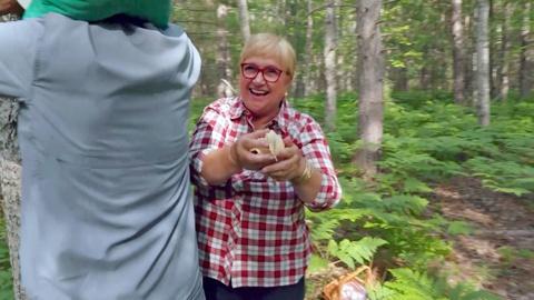 Lidia Celebrates America -- The Great Mushroom Catch