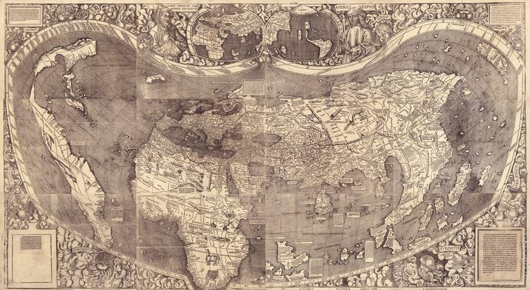 PBS NewsHour: How bold errors on old world maps shaped the 21st century