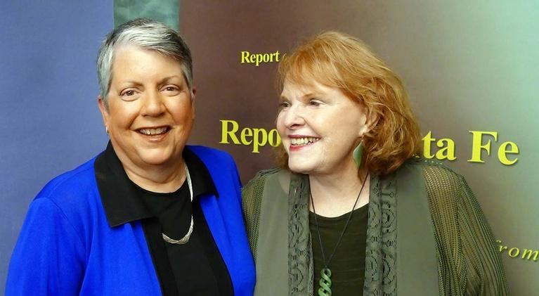 Report From Santa Fe, Produced by KENW: Janet Napolitano