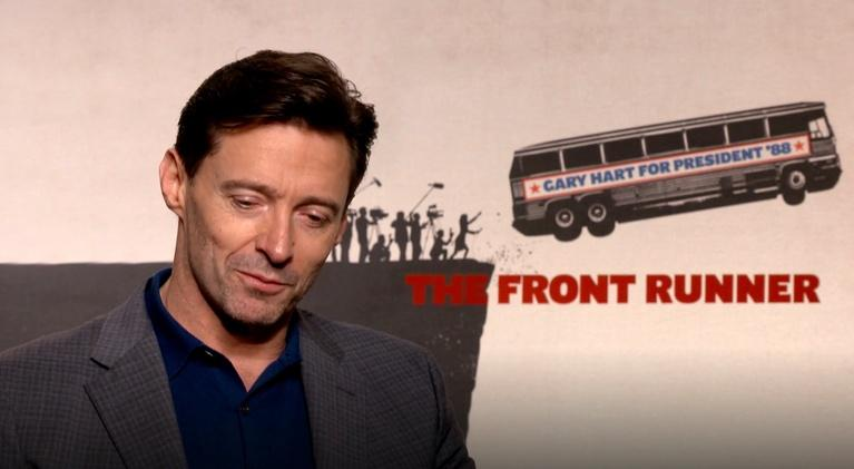 "Flicks: Hugh Jackman for ""The Front Runner"""
