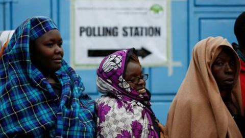 PBS NewsHour -- As Kenya votes, some fear repeat of past election violence