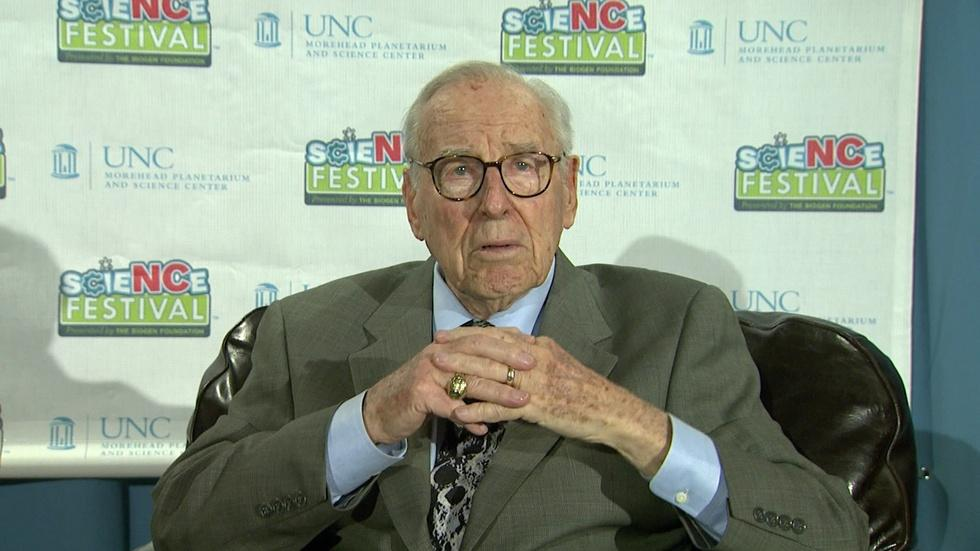 NC Science Now: Jim Lovell image