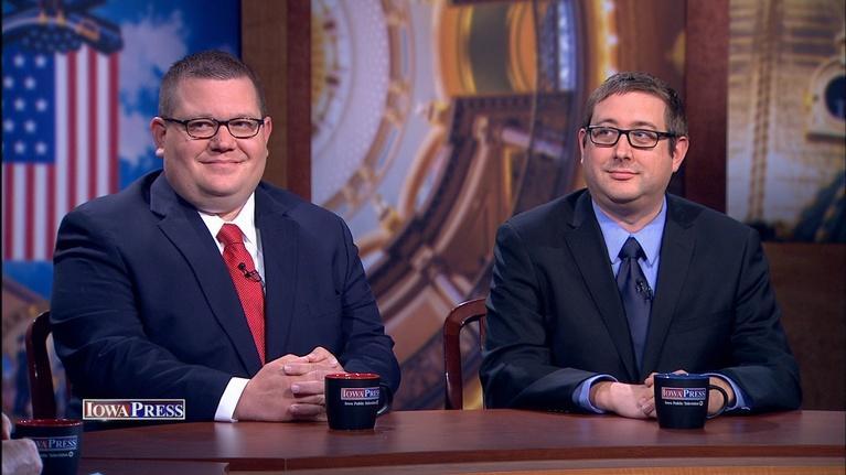 Iowa Press: Craig Robinson and Pat Rynard