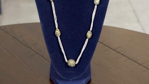 Antiques Roadshow -- Appraisal: Mughal Emerald & Pearl Necklace, ca. 1895