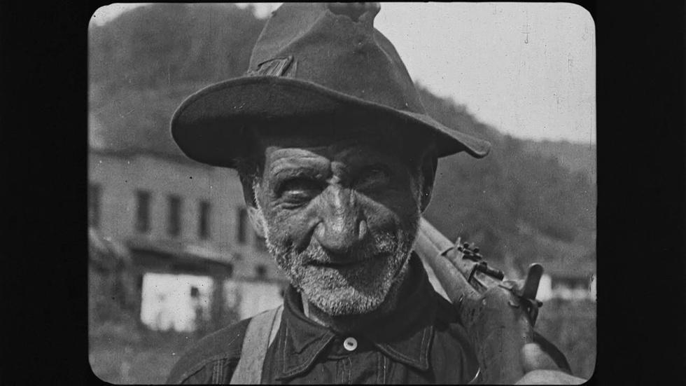 1920's Coal Miners strike image