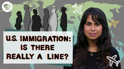 """Above The Noise -- Is There Really an Immigration """"Line"""" to Wait In?"""