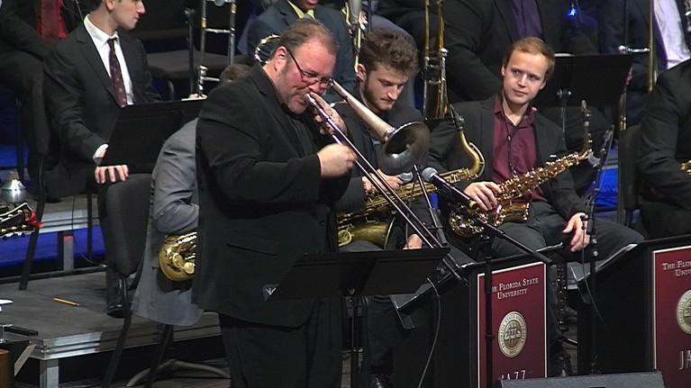 WFSU Music: FSU Jazz Ensemble I with Faculty   February 15, 2018