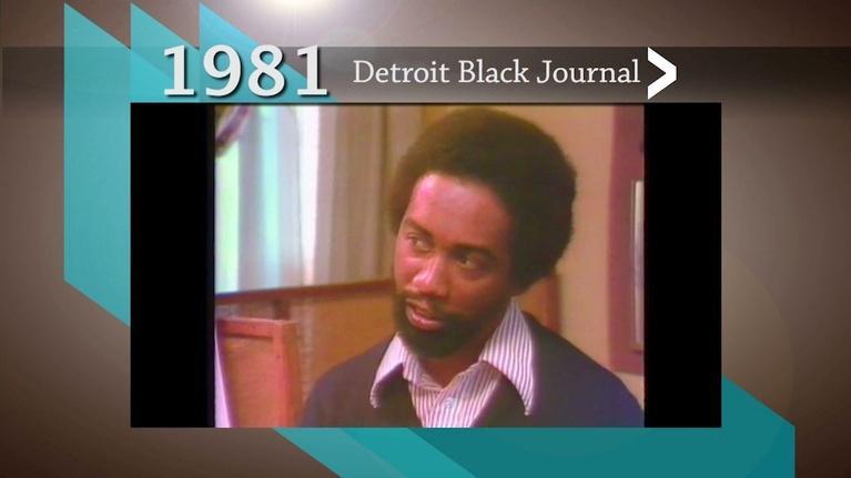 American Black Journal: 1981 Detroit Black Journal Clip: Artist Walter Morgan