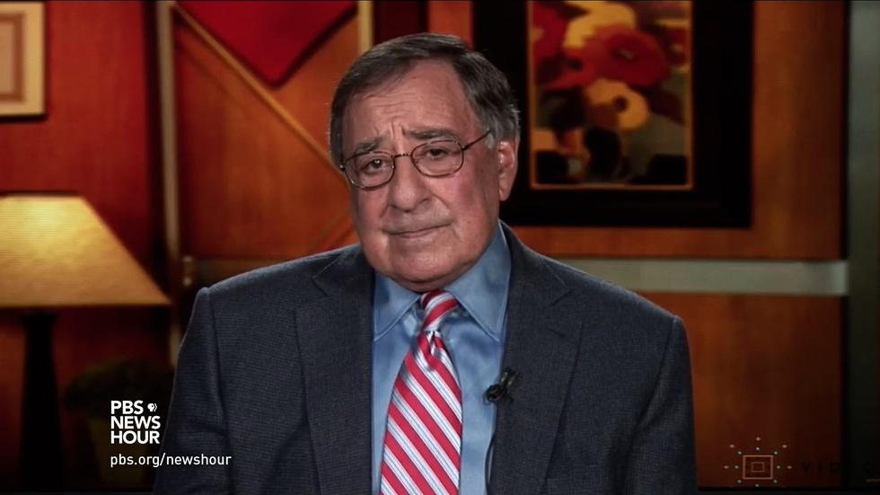 Panetta: Comey firing undermines investigation credibility image