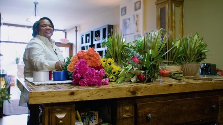 Columbus Neighborhoods: Flower Power: Battiste LaFleur Galleria