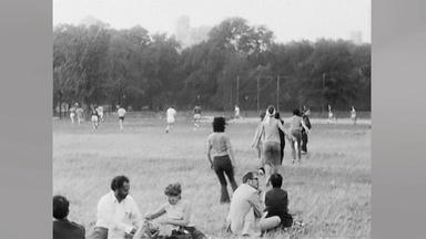 The time Twyla Tharp setup a performance in Central Park