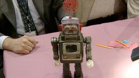 Antiques Roadshow -- S21 Ep21: Appraisal: Television Spaceman Robot, ca. 1960